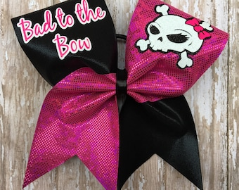 Bad to the Bow Cheer Bow