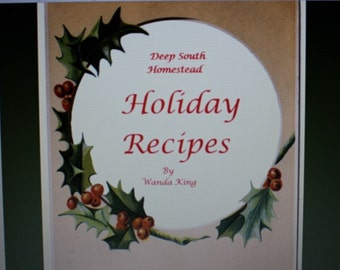 Ebook - Holiday Recipes from Deep South Homestead