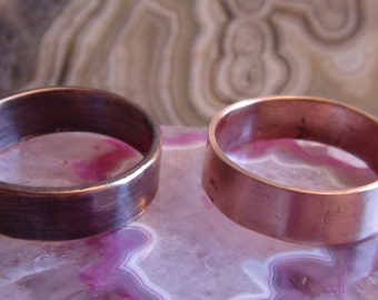 Solid Copper Rings 3/16 Inch