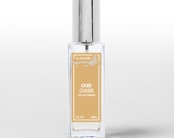 Oud Oasis - Spray perfume Eau de Parfum - Oriental fragrance for men