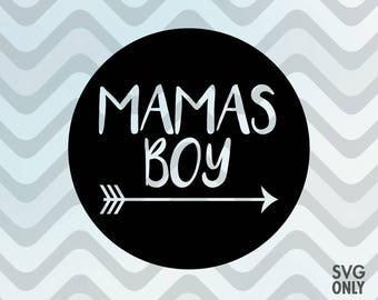 Mamas Boy SVG