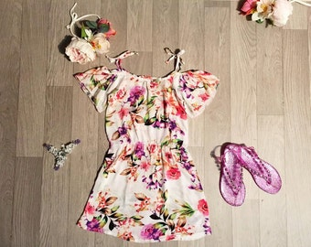 Summer Breeze Tie up Dress