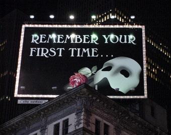 Phantom of the Opera Billboard New York City