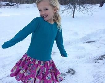 """Dress, """"Frozen"""" Elsa & Anna"""