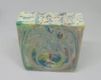Cold Process Soap - Handmade Soap - Vegan Soap - Swirled Soap - Gift For Her - Mother's Day - Artisan Soap - Spa Gift For her - Scented Soap