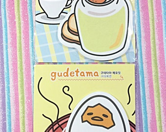 Gudetama sticky notes pad - kawaii - Sanrio