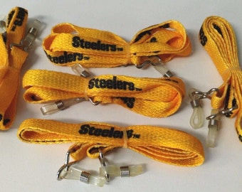 Pittsburgh Steelers 1230 Sunglass Holders Fits All Glasses 5pcs. USA