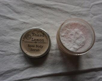 Rose Salt Scrub
