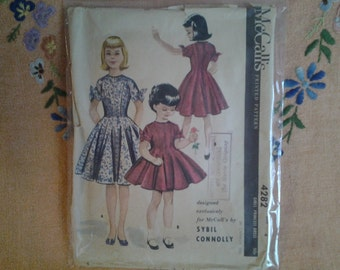 1950s child's dress pattern by McCall's