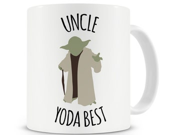 Uncle Yoda Best Mug Best Uncle Gift Uncle Birthday Present New Uncle Best Uncle Ever Star Wars Uncle