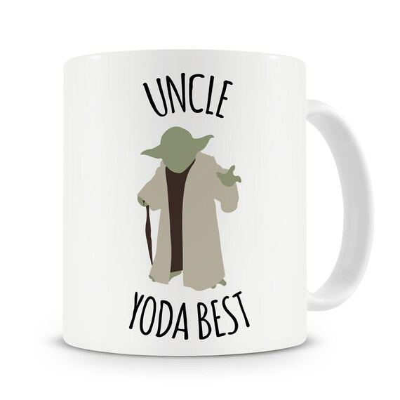 Uncle Yoda Best Mug Best Uncle Gift Uncle Birthday Present New