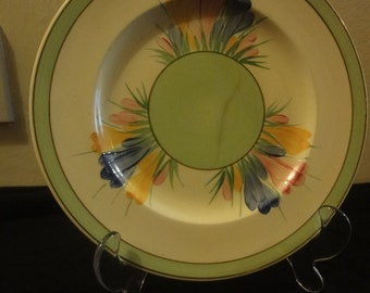 Clarice Cliff PLATE  dia size 20cm  in good condition