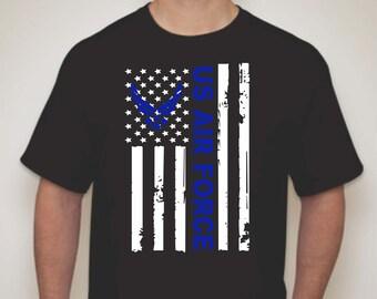 US Air Force T-shirt- Air Force T-shirt- Air Force Apparel