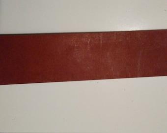 2'' wide belt blank