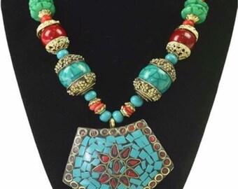 Tibetan Stone Necklace