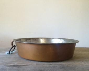 Vintage Copper Pan