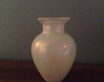 Silvestri frosted vase