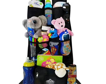 Car Backseat Organizer/ Baby shower gift