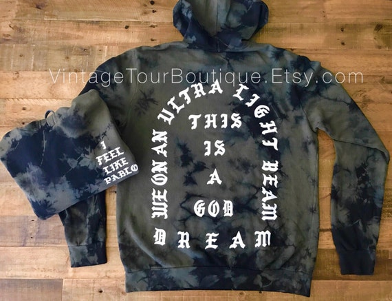I feel like pablo hoodie camo olive the life of pablo yeezy for Life of pablo merch