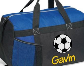 Soccer duffel, Personalized Soccer Bag, Custom Soccer Bag