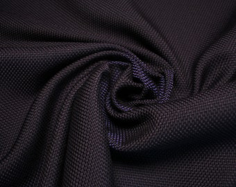 Made in Italy cotton fabric, navy blue color, autumn/winter.