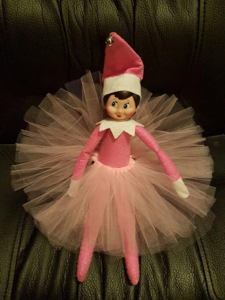 Light Pink Elf On The Shelf Tutu Skirt Elf On The Shelf