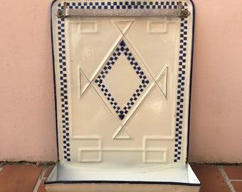 Vintage Enamelware lustucru Enamel Utensil enameled 12041717