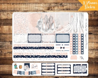H Planner Ball Gown Weekly Planner Stickers {#15}
