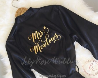 Bridesmaid Robes, Bridesmaid Gifts, Bride Robe, Bridal Party Robes, Monogrammed Robes, Personazlized Wedding Gift, Mother of the Bride Gift