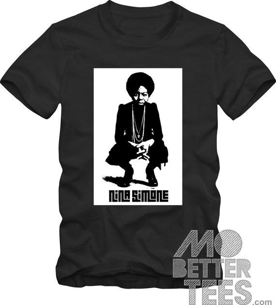 Nina Simone black T-Shirt Choose from 8 colorways