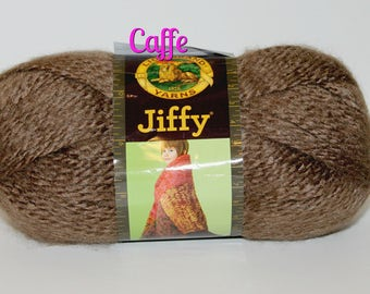 Jiffy Yarn, Lion Brand, DISCONTINUED, Hard to find, Perfect for making things for baby, accessories, hats, toys, blankets, hats and more