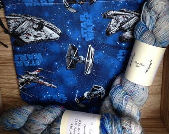In a Galaxy Yarn and Bag Kit