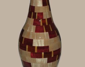 Spiral Patterned Vase
