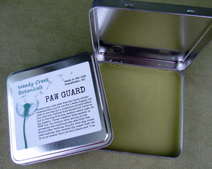 Paw Guard, Paw Wax, Dog paw protection, Natural pet