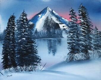 Winter's Sunset - d