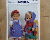 Patons PBN D 2331 Doll Clothes Knitting Pattern Knitting Pattern to Knit Clothes for  12 Doll Doll Dress Knitting Pattern