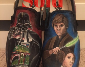 Custom Star Wars Vans