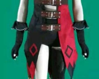 Harley quinn arkham cosplay
