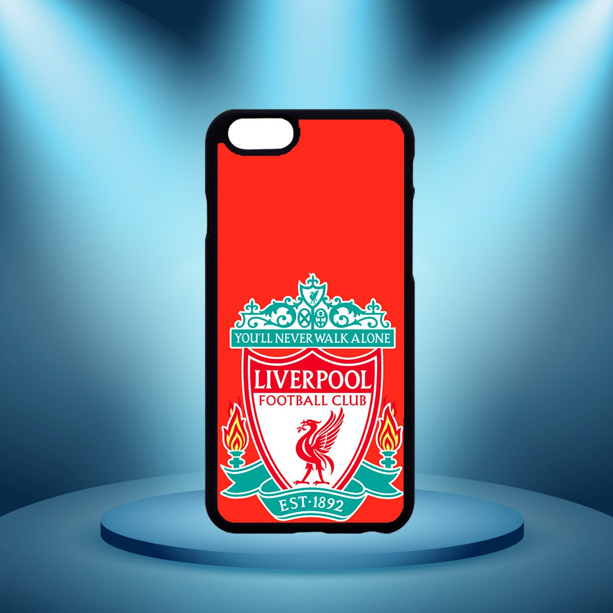 Liverpool FC iPhone 6/6s Case by MidnightPrintsUK on Etsy