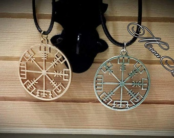 Vegvis, paganism, pagan jewelry, Norse paganism, compass