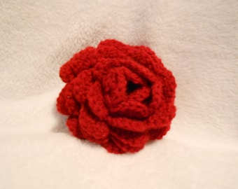 Crochet Rose, Large