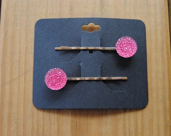 Pink Jewel Hair Pin