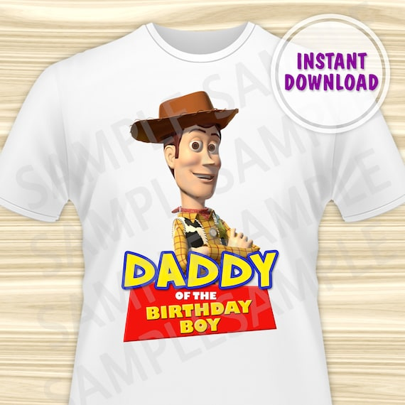 Boy Toys For Dads : Toy story dad of the birthday boy iron on