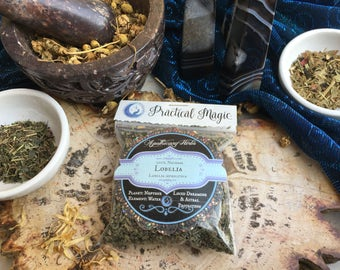 Lobelia Dried Herb (Small) for Lucid Dreaming, Astral Projection, Faerie Magic & Mysticism