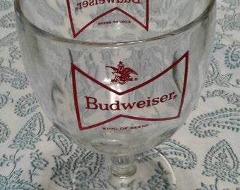 Vintage Budweiser goblet