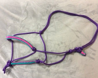 Rope Halter Purple