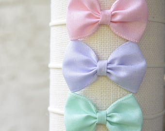 Spring pastel sparkle bow | SS17