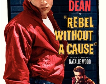 Rebel without a cause James Dean  11 x 17 Movie Poster - Style A