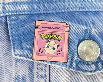 Pokemon Fantasy Cartridges - Jigglypuff Pink Edition