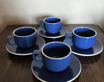 Sasaki Colorstone Sapphire Tea Cup and Saucer